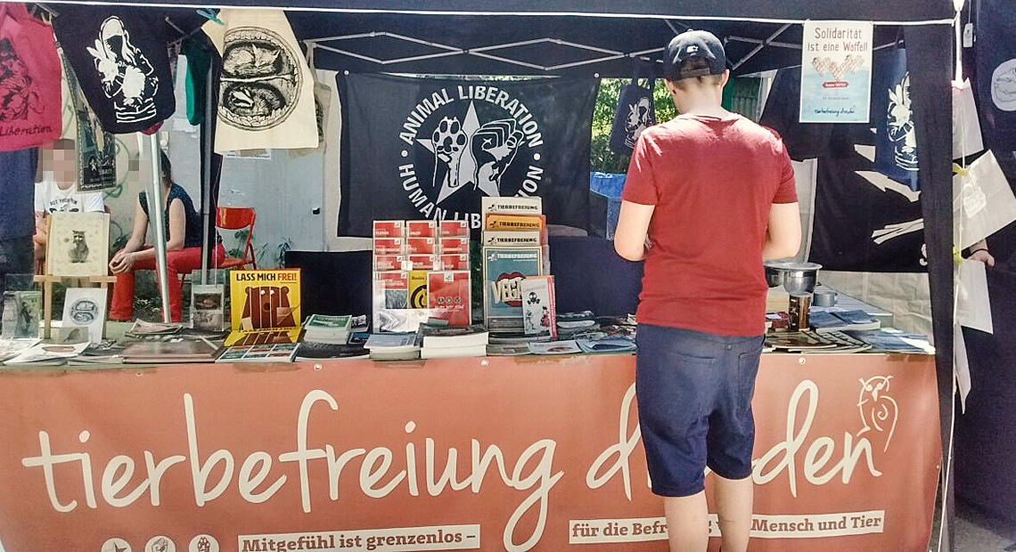 2. veganes Straßenfest in Cottbus