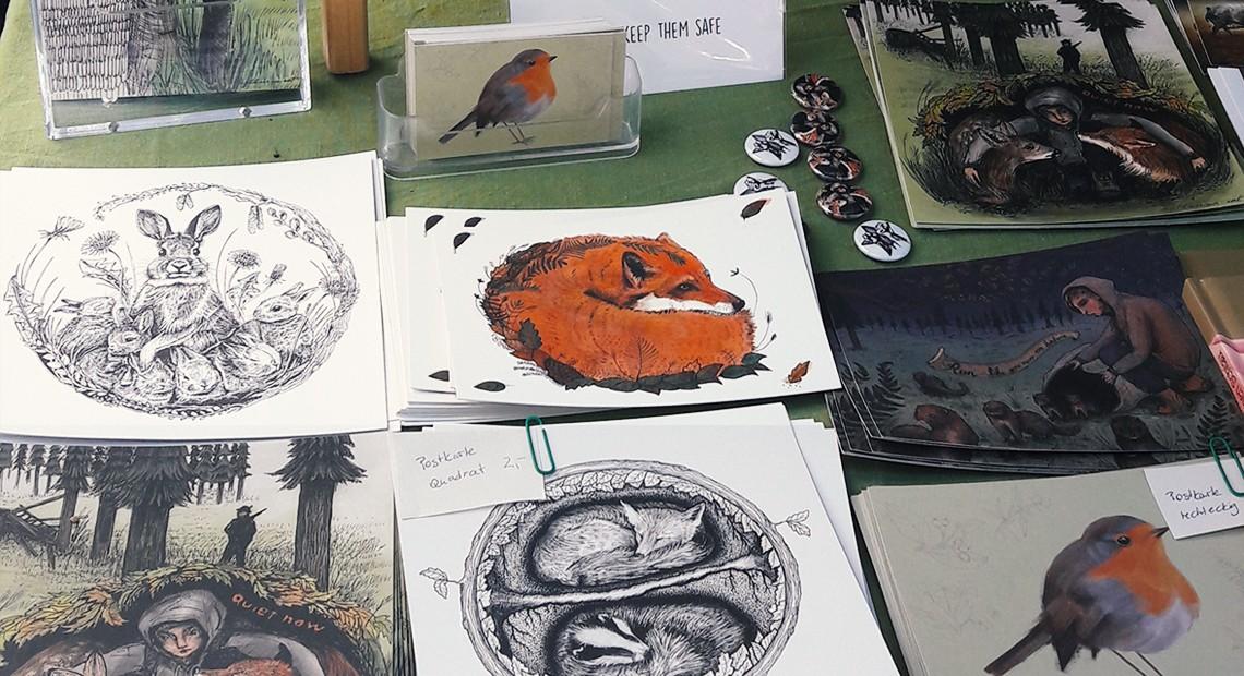 Karten und Kunstdrucke von der Hamburger Illustratorin Katharina Rot