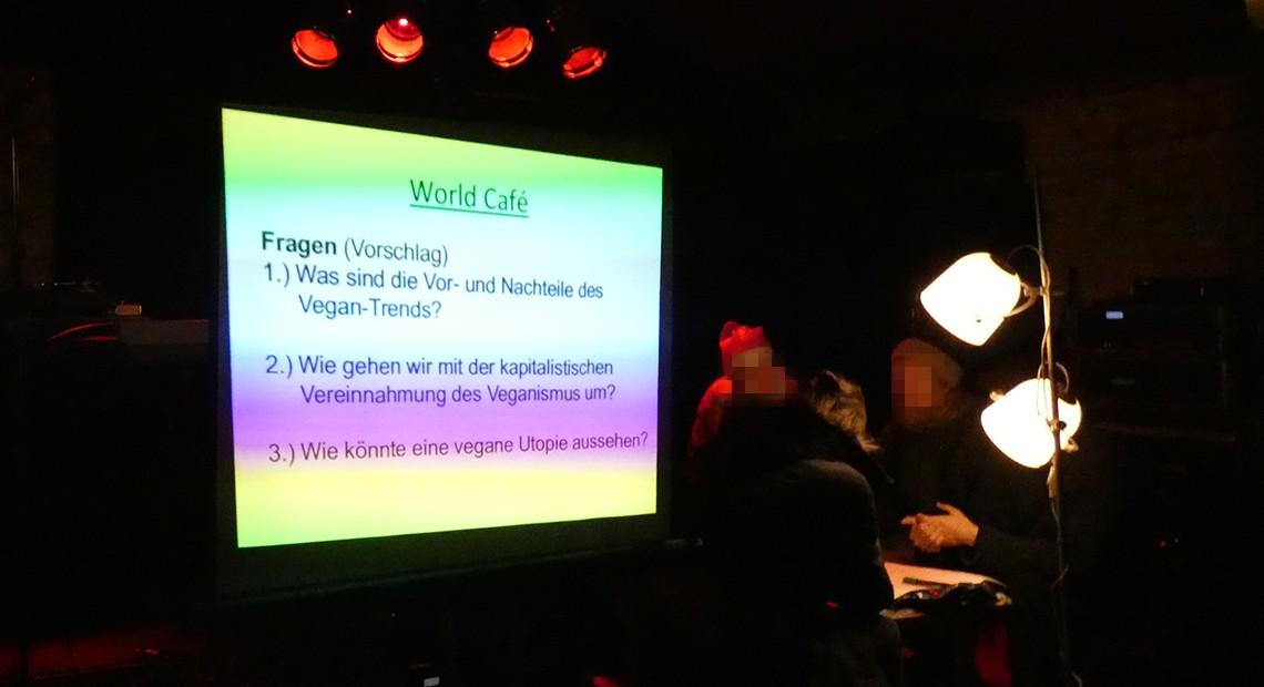 Workshop: »Wie politisch ist der Veganismus?«