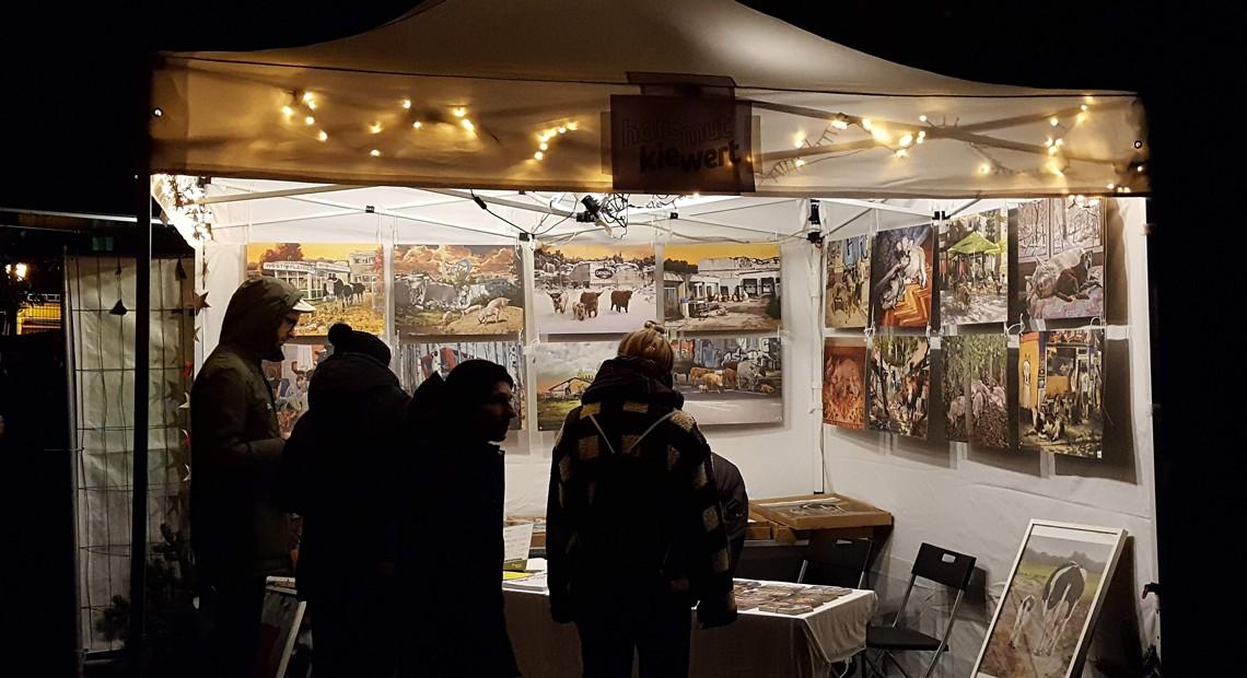 Veganer Wintermarkt Dresden 2018