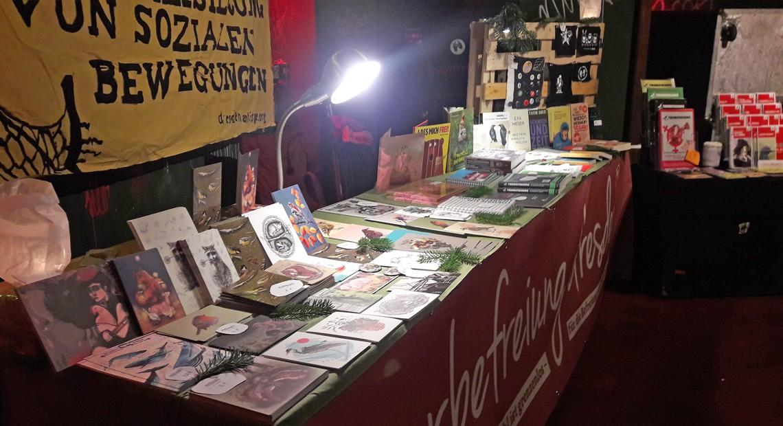 5. veganer Wintermarkt in Dresden